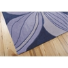Nourison Contour Rectangle Rug  By Nourison, Blue, 5' X 7'6""