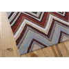 Nourison Contour Rectangle Rug  By Nourison, Multicolor, 5' X 7'6""