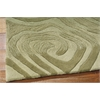 Nourison Contour Rectangle Rug  By Nourison, Avocado, 5' X 7'6""