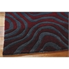 Contour Rectangle Rug By, Sangria, 5' X 7'6""