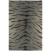 "Contour Rectangle Rug By, Black Grey, 3'6"" X 5'6"""