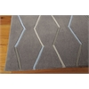 Contour Rectangle Rug By, Charcoal, 5' X 7'6""