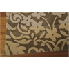 Nourison Contour Rectangle Rug  By Nourison, Latte, 5' X 7'6""