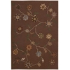 Contour Brown Area Rug
