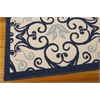"Caribbean Rectangle Rug By, Navy, 5'3"" X 7'5"""
