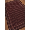 "2000 Rectangle Rug By, Burgundy, 5'6"" X 8'6"""