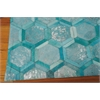 City Chic Turquoise Area Rug