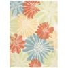 "Home & Garden Rectangle Rug By, Ivory, 5'3"" X 7'5"""