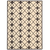 Decor Rectangle Rug By, Ivory Grey, 5' X 7'