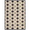 Nourison Decor Rectangle Rug  By Nourison, Ivory Navy, 5' X 7'