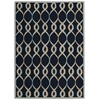 Nourison Decor Rectangle Rug  By Nourison, Navy, 5' X 7'