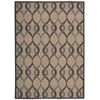 Nourison Decor Rectangle Rug  By Nourison, Taupe, 5' X 7'