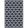 Decor Navy/White Area Rug