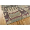 "Nourison Dune Rectangle Rug  By Nourison, Mist, 5'6"" X 8'"