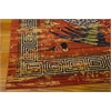 "Bbl16 Dynasty Rectangle Rug By, Persimmon, 7'9"" X 9'9"""