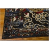 "Nourison Bbl16 Dynasty Rectangle Rug  By Nourison, Midnight, 7'9"" X 9'9"""