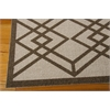 Nourison Enhance Rectangle Rug  By Nourison, Latte, 5' X 7'