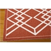 Enhance Rectangle Rug By, Paprika, 5' X 7'