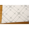 Enhance Rectangle Rug By, Ivory Grey, 5' X 7'