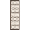 "Enhance Runner Rug By, Brown, 2'6"" X 8'"