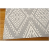 Enhance Rectangle Rug By, Grey, 5' X 7'