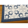 Nourison Enhance Rectangle Rug  By Nourison, Blue, 5' X 7'