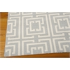 Nourison Enhance Rectangle Rug  By Nourison, Light Blue, 5' X 7'