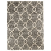 Escape Silver Shag Area Rug