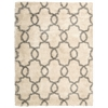 "Nourison Escape Rectangle Rug  By Nourison, White Shades, 5'3"" X 7'3"""