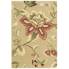 "Fantasy Rectangle Rug By, Beige, 1'9"" X 2'9"""