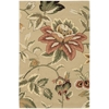 "Nourison Fantasy Rectangle Rug  By Nourison, Beige, 3'6"" X 5'6"""
