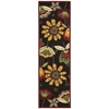 "Fantasy Runner Rug By, Black, 2'3"" X 8'"