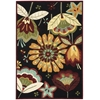 """Fantasy Rectangle Rug By, Black, 3'6"""" X 5'6"""""""