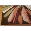 Nourison Fantasy Rectangle Rug  By Nourison, Multicolor, 5' X 7'6""
