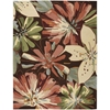 Nourison Fantasy Rectangle Rug  By Nourison, Multicolor, 8' X 10'6""