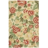 "Fantasy Rectangle Rug By, Cream, 3'6"" X 5'6"""