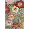 "Fantasy Rectangle Rug By, Aqua, 3'6"" X 5'6"""