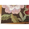 Nourison Fantasy Rectangle Rug  By Nourison, Chocolate, 5' X 7'6""