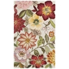 "Fantasy Rectangle Rug By, Ivory, 3'6"" X 5'6"""