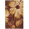 "Fantasy Rectangle Rug By, Cayenne, 1'9"" X 2'9"""