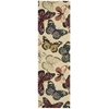 "Fantasy Runner Rug By, Beige, 2'3"" X 8'"