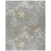 Fantasy Rectangle Rug By, Light Blue, 8' X 10'6""