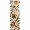 "Fantasy Runner Rug By, Ivory, 2'3"" X 8'"