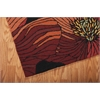 Fantasy Rectangle Rug By, Black, 5' X 7'6""