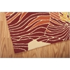 Fantasy Rectangle Rug By, Sunset, 5' X 7'6""