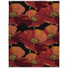 Fantasy Rectangle Rug By, Black, 8' X 10'6""