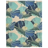 Fantasy Rectangle Rug By, Ivory Aqua, 8' X 10'6""