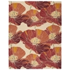 Fantasy Rectangle Rug By, Sunset, 8' X 10'6""