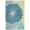 "Fantasy Rectangle Rug By, Seafoam, 1'9"" X 2'9"""