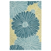 "Fantasy Rectangle Rug By, Seafoam, 2'6"" X 4'"